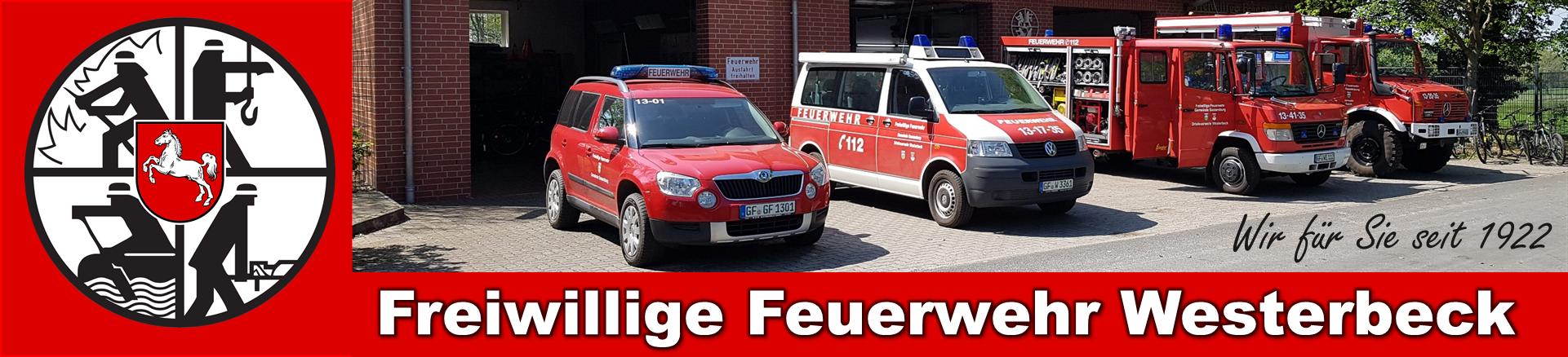 Freiwillige Feuerwehr Westerbeck – Wir für Sie seit 1922